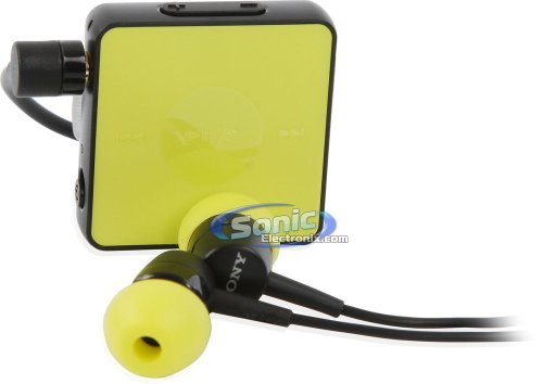Sony Sbh20 Lime Wireless Nfc Bluetooth 3.0 Earbuds Stereo Headset In-Ear Headphones (Yellow/Black)