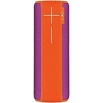 Enceinte Bluetooth Étanche Résistante aux Chocs Violet/Orange
