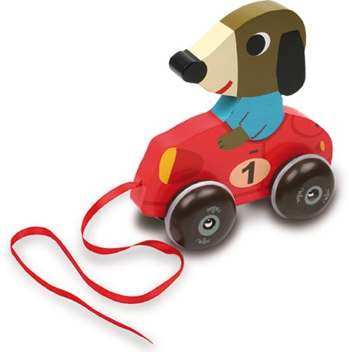 Vilac Melusine's Baby Toy, Fangio The Dog