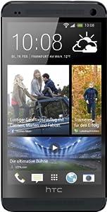 HTC One Smartphone (11,9 cm (4,7 Zoll) Touchscreen-Display, Ultrapixel Kamera, 32 GB interner Speicher, 1,7 GHz Quad-Core Prozessor, 2 GB RAM, LTE, NFC-fähig, BlinkFeed, BoomSound, MicroSIM, Android OS) stealth black