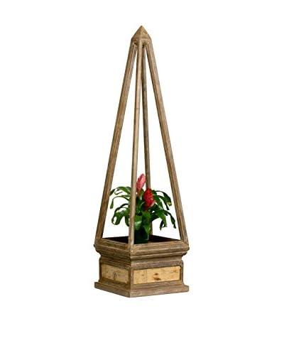 Large Wood Obelisk