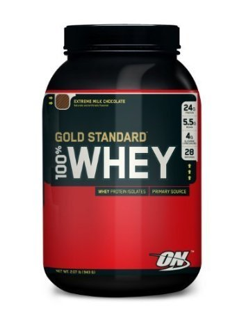 Optimum Nutrition 100% Whey Gold Standard, Double Rich Chocolate 4 pounds