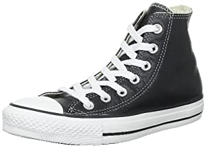 Converse All Star Hi leather 44,5, noir