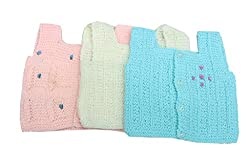 Romano New Born Baby Winter Wear Sweater Vest (Pack of 3)