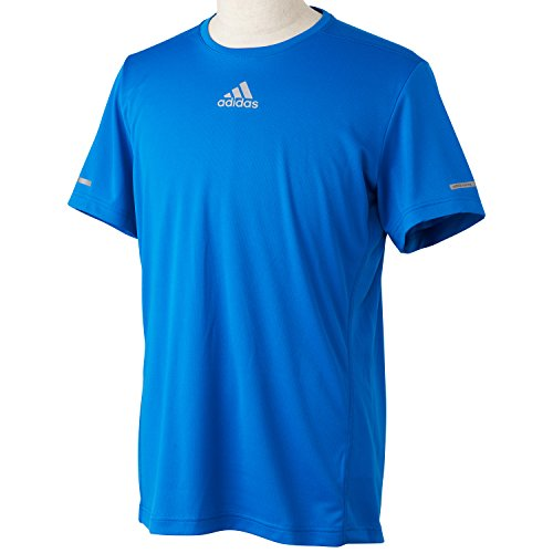(Adidas) ADIDAS M SQ running short sleeve T shirt ITQ08 S03012 bright Royal J/M