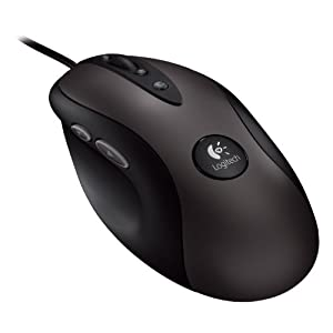 Logitech Optical Gaming Mouse G400 with High-Precision 3600 DPI Optical Engine $29.99