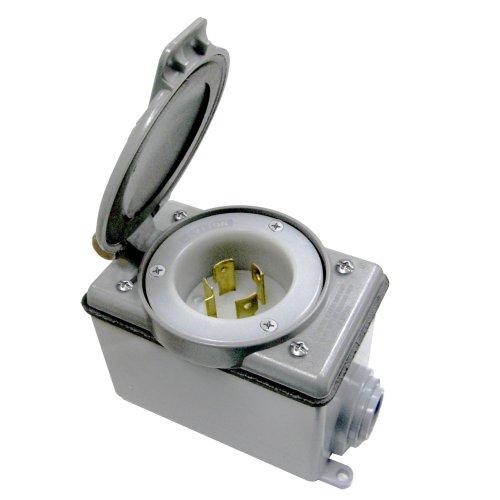 20 Amp Generator Power Cord Inlet Kit, L14-20, 37820-KIT
