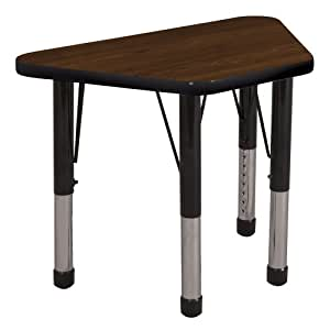 Ecr4kids 18 x 30 trap adjustable activity table elr 14118 leg style toddler - Table glides for legs ...