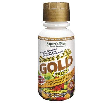 Nature'S Plus Source Of Life Gold Liquid Delicious Tropical Fruit -- 8 Fl Oz