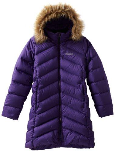Marmot Kinder Daunenmantel Montreaux, deep purple, S