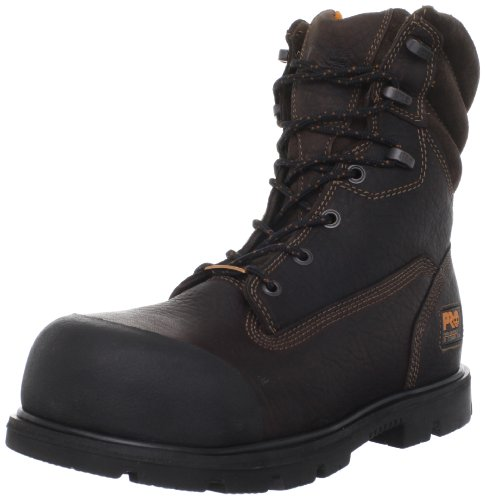 Timberland PRO Men's 8 Inch Storm Force Waterproof Boot,Brown,11 M US