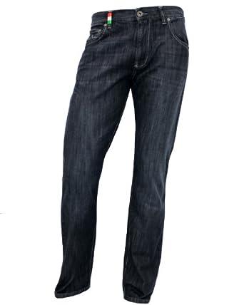 ALBERTO Jeans T400 Stone, bleu foncé taille 30/32