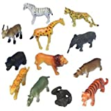 Neo Gold Leaf 12 Pcs Set Wild Animal[multi Color]