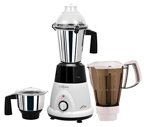 Tabakh Lite Pro Indian Mixer Grinder | 2-Jar + Juicer | 750 Watts | 110-Volts (Mixer Grinder And Juicer compare prices)