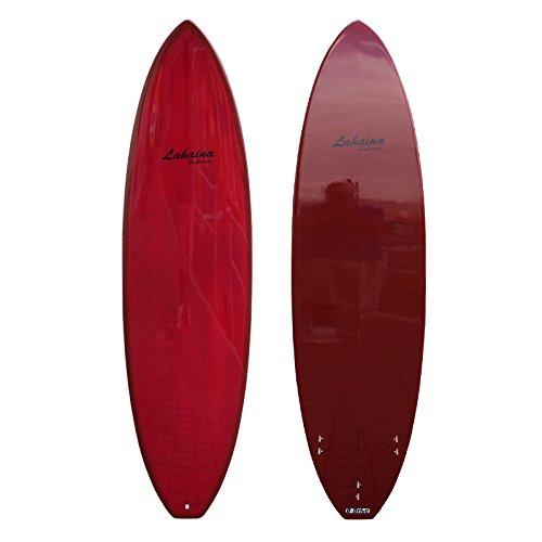 サーフボード ラハイナ / LAHAINA ファンボード 6'8ワインレッド