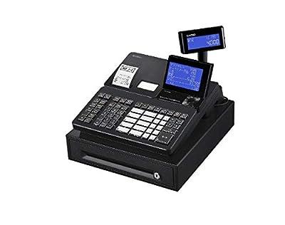 カシオ 電子レジスター ブラックCasio Sr-s4000-20sbkブラック(20部門) Sr-s4000-20sbk