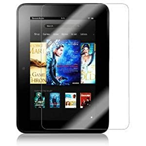 2 Pack QQ-Tech Anti Glare LCD Screen Protector Guard Film for Amazon Kindle Fire Ultra Clear
