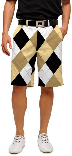 Loudmouth Golf Mens Shorts: BarGuile Mega - Size 38 by Loudmouth Golf