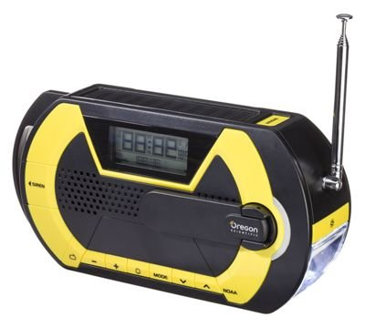 Oregon Scientific WR202 Digital Handheld Emergency Alert Radio