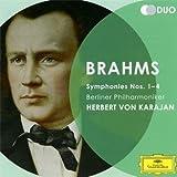 Brahms : Symphonies n� 1 � n� 4par Johannes Brahms