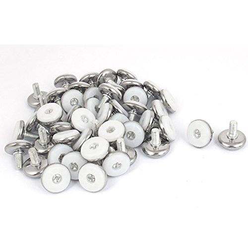 meubles-m8-x-15mm-filetage-reglable-niveleur-pied-de-nivellement-50pcs