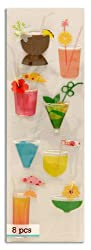 Martha Stewart Crafts Delicious Tropical Drink Stickers By The Package