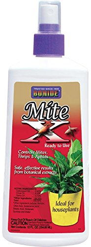 Bonide 114 Mite-X Ready to Use Houseplant Insect Killer, 12-Ounce