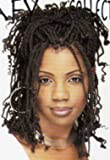 Nafy Collection Kinky Twist (Puffy Screw Dred Lock) Hair - Color T1B-99J - Off Black with Dark Burgundy (tip Dark Burgundy only)