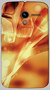 Timpax protective Armor Hard Bumper Back Case Cover. Multicolor printed on 3 Dimensional case with latest & finest graphic design art. Compatible with only Motorola Moto - X-1- 1st Gen. Design No :TDZ-20176