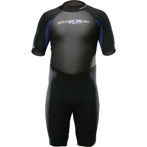 Hyperflex Wetsuits Men's Access 2.5mm Spring Suit, Black/Blue, XXX-Large - Surfing, Windsurfing & Wakeboarding