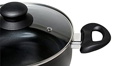 Melange Nonstick Scratch Resistant Ceramic Coating PTFE-PFOA-Cadmium-Lead Free Dishwasher Safe 10 Piece Cookware Set
