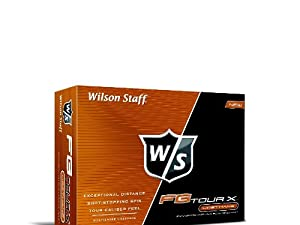 Wilson Staff FG Tour X Golf Balls, Pack of 12 by Wilson
