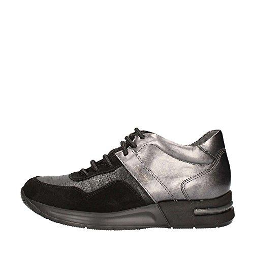 Callaghan 92100 Sneakers Donna Pelle E Camoscio Nero Nero 38