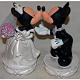 Disney Park Wedding Mickey Minnie Bobblehead Figure [Disney Theme Park Exclusive]
