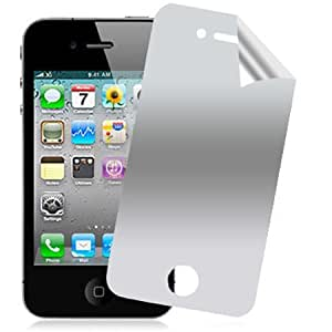 Case TooGoo Mirror Screen Protector for iPhone 4/4S - Retail Packaging - Mirror