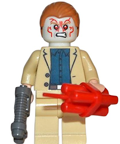 LEGO Super Heroes Iron Man 3 Aldrich Killian Minifigure with Glow in the Dark Head, Ray Gun and Dynamite - 1