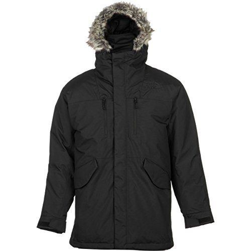 The North Face Mount Logan Jacket Mens TNF Black (Large)