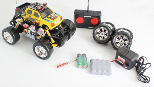 Extreme Monster Drifting Truck 4X4 High Quality (Colors May Vary) Cadillac Escalade 1:18 Electric Rtr Rc Truck, Remote Control Monster Truck With Extra Grip Tires And Rechargeable Batteries