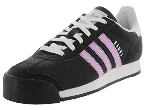 Adidas Women's Samoa W Originals Black/Purglo/Ftwwht Casual Shoe 7 Women US