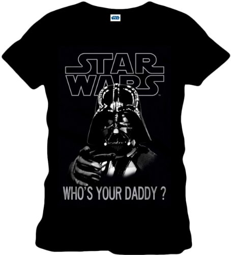 Star Wars T-Shirt Who's Your Daddy black Size M CODI