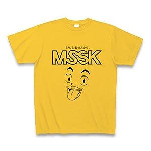 (クラブティー) ClubT 【KC】市川マサ先生作「もうしませんから。」 Tシャツ(ゴールドイエロー) M ゴールドイエロー