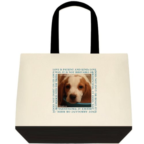 Canvas Tote Bag - Puppy