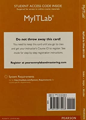 MyITLab with Pearson eText -- Access Card -- for GO! with Office 2013