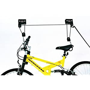 Click to buy Garage Bicycle Storage: Gear Up Up And Away Deluxe Bicycle Storage Hoist from Amazon!