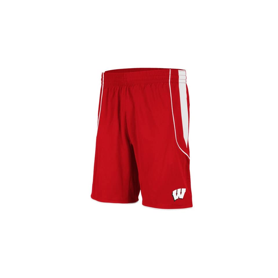 69c6daf70afe8 adidas Wisconsin Badgers Mens Replica Basketball Shorts on PopScreen