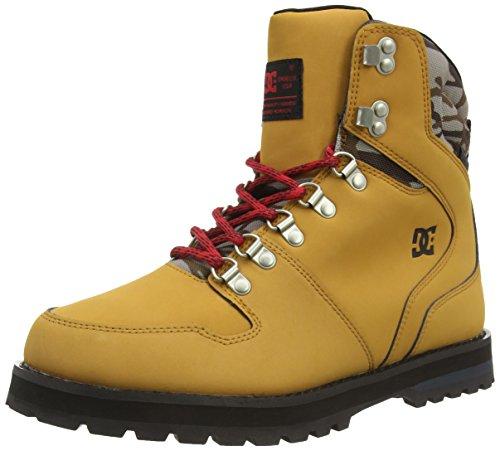 DC Shoes PEARY M, Stivaletti a gamba corta mod. Classics, senza imbottitura uomo, Beige (Beige (Camel/Black CB0)), 42