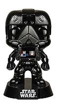 Funko POP Star Wars: Black Chrome Tie-Fighter Pilot NYCC Exclusive Action Figure