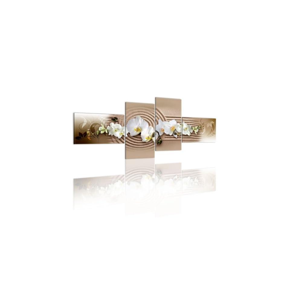 200x90 riesen format bild auf leinwand 4 teilig blumen on popscreen. Black Bedroom Furniture Sets. Home Design Ideas