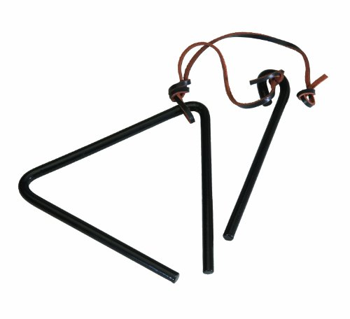 Campfire Cooking Equipment That Is Just For Fun - Texsport Triangle Dinner Bell