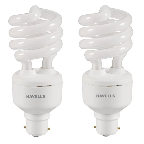 T3 23W CFL Bulb (Warm White and Pack of 2)